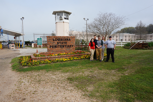 2016 Crimninal Justice students visit to Louisiana State Prison